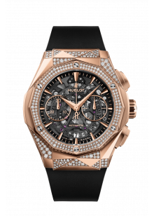Aerofusion Chronograph Orlinski King Gold Alternative Pavé