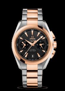 Aqua Terra 150M Chronographe Omega Co‑Axial GMT 43mm