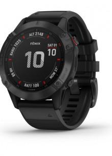 fenix6 - Pro - noir avec bracelet noir