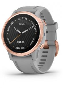 fenix6S - Rose Gold avec bracelet gris
