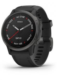 fenix6S - Carbon Gray DLC avec bracelet noir