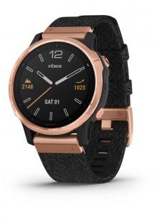 fenix6S - Rose Gold avec bracelet en nylon noir