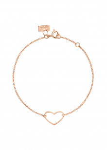 Angie  - bracelet or rose