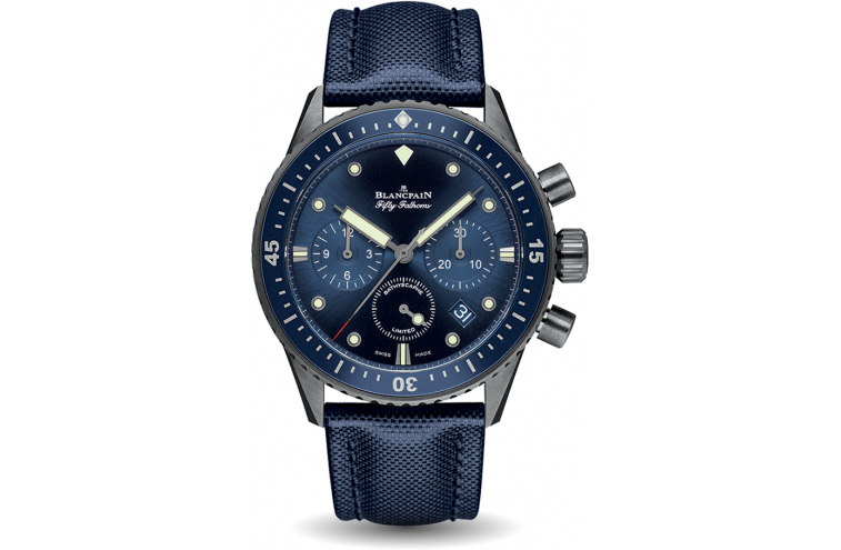 Bathyscaphe Chronographe Flyback Ocean Commitment - 1