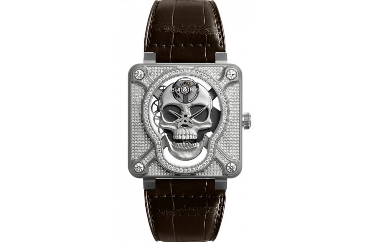 BR 01 LAUGHING SKULL FULL DIAMOND - 1