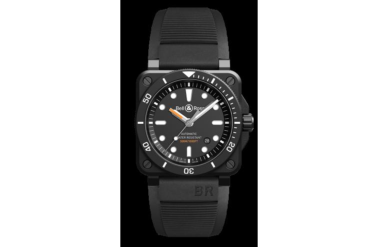 BR 03-92 DIVER BLACK MATTE - 1