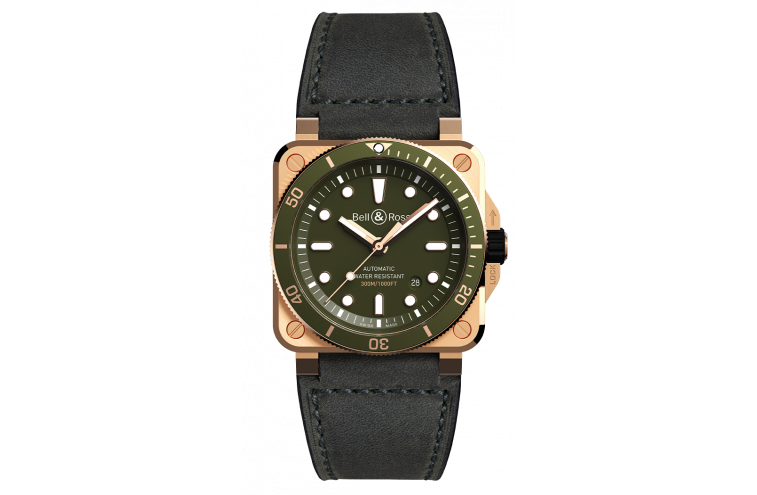 BR 03-92 DIVER GREEN BRONZE - 1